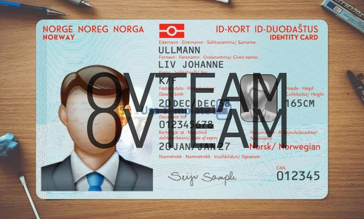 Id card editing fake to real documentsnorway in 2020