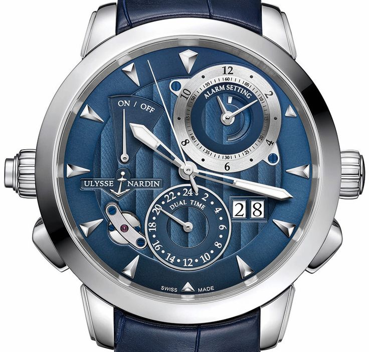 "Ulysse Nardin Classic Sonata Watch by Kenny - Sporty and bold, more details at: aBlogtoWatch.com - ""If anyone new to watches were to ask me to describe the brand Ulysse Nardin in just a few words, I would definitely say that they are forward-looking, technical, and aesthetically bold. One example of this is their iconic Freak watch. It was one of the earliest watches to use silicon in the movement, and even today it looks unlike anything else..."""