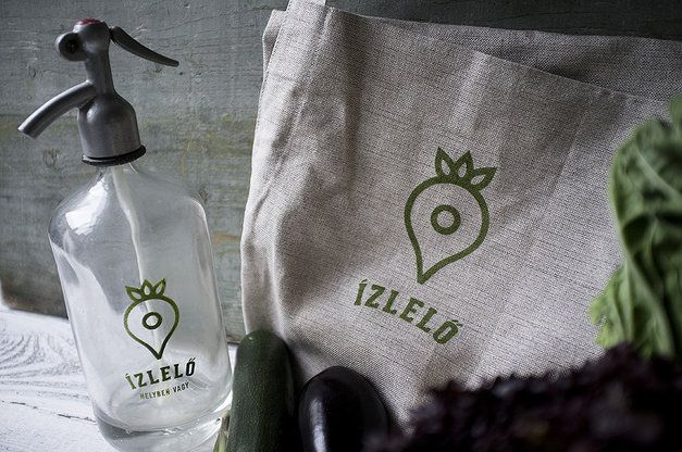 Ízlelő project identity by Eszter Laki // azizlelo.hu is a website for Hungarian foodies who seek local food stores, producers, farmers, etc. and would like to share their experiences with the community