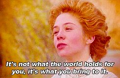 But you try not to let anything get you down. | 21 Signs You Are Anne Shirley