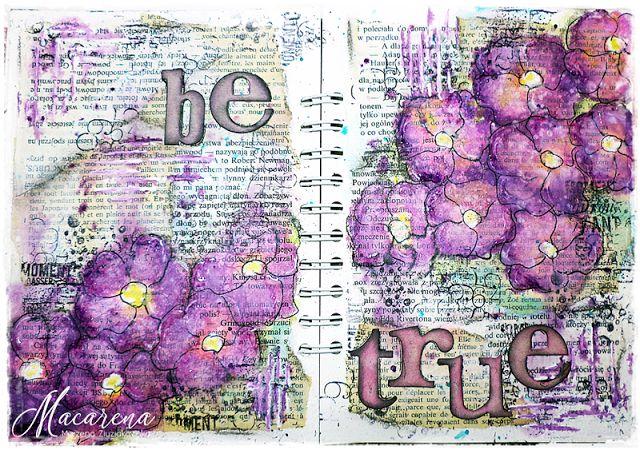 macarena-creativa: Be True