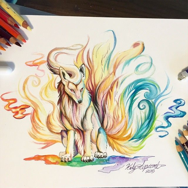 215- Ninetails  The winner of the pokemon poll by a landslide was Ninetails…