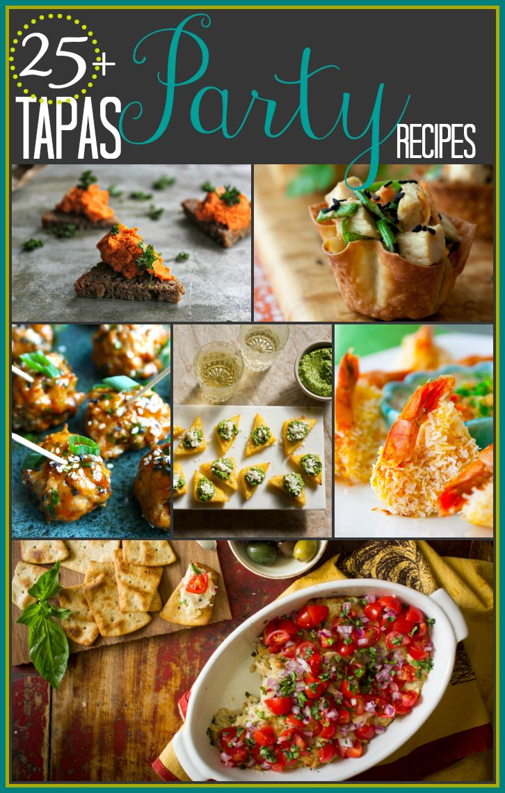 25-plus-tapas-party-recipes via @Katie Webster | Healthy Seasonal Recipes