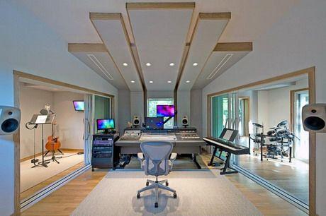 Example of our recording studio doors installed at MonkMusic Studios (studio designed by John Storyk).