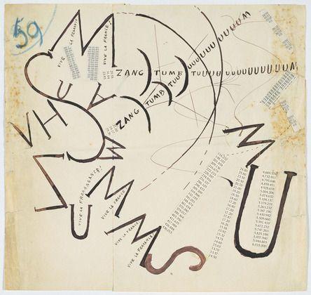 this is so great and random-- Filippo Tommaso Marinetti. Vive la France. (late 1914 - February 1915)