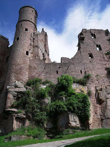 Hanstein Castle, Thuringia, Germany / Burgruine Hanstein in Thüringen #thueringen #thueringenentdecken #wanderlust