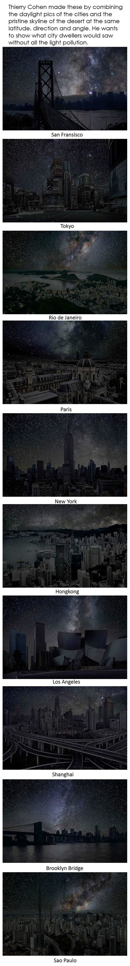 Beautiful Light Pollution Ideas On Pinterest Canoeing - Beautiful video imagines cities without light pollution