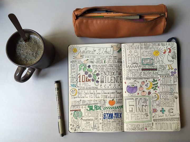 #Bullet #journal #moleskine #idea #weight #diet