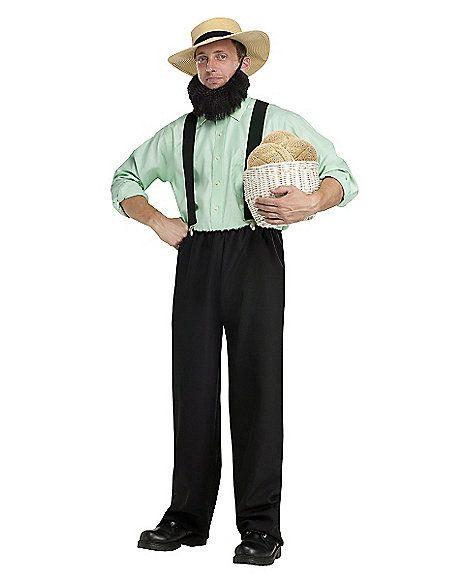 Adult Amish Mafia Costume - Spirithalloween.com