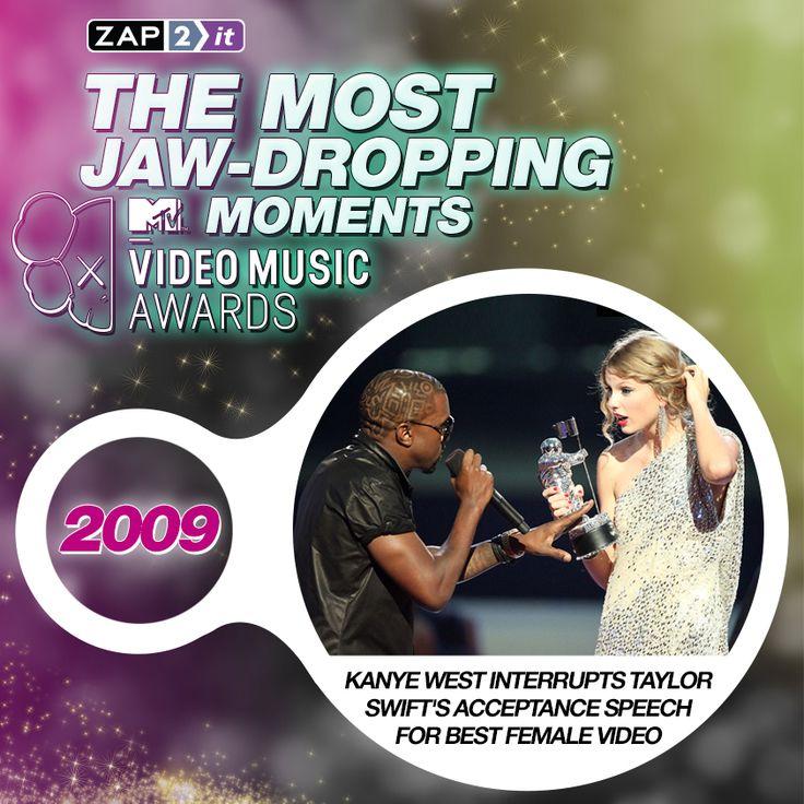 Kanye interrupts Taylor Swifts acceptance speech!