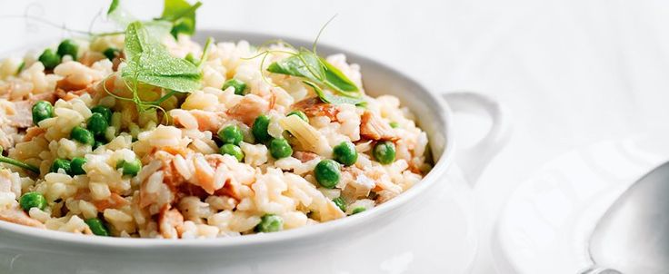 - Salmon, Pea and Lemon Risotto recipe, brought to you by MiNDFOOD.