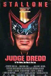 Judge Dredd The Movie. In a dystopian future, Joseph Dredd, the most famous Judge (a police officer with instant field judiciary powers), is convicted for a crime he did not commit and must face his murderous counterpart.