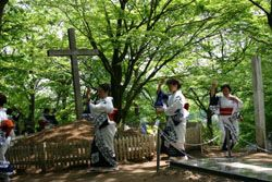 Article on the history of Christianity in Japan.