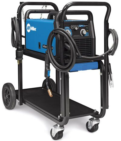 Millermatic 211 MIG Welder With Advanced Auto-Set And Cart 951603 https://www.millerwelds.com/equipment/welders/mig-gmaw/r1021572-no-name#!/?product-options-title=millermatic-211-with-running-gear-951603 $1,295 Consumables: https://www.millerwelds.com/consumables/kits/r0049109-no-name https://www.millerwelds.com/consumables/kits/r0049110-no-name Tig-Mate torch kit TIG-Mate™ 17V Air-Cooled TIG Torch Starter Pack $515 (Q: Get water or air TIG?) Also RAGE3 SAW