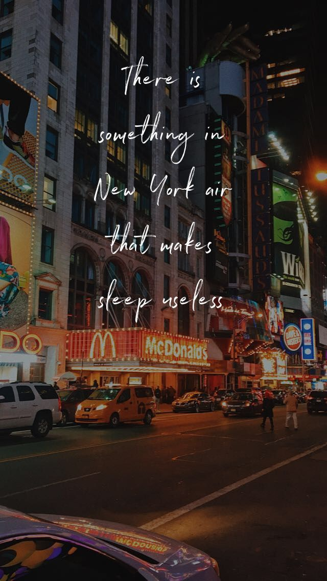 newyork night city quote vibe newyorkcity ny nyc life