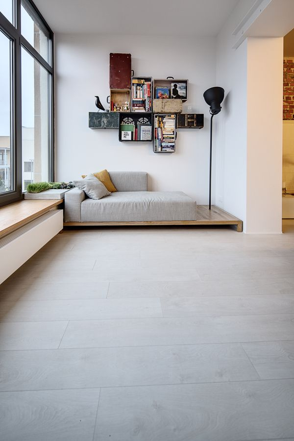 lipinka apartment by Slava Balbek, via Behance