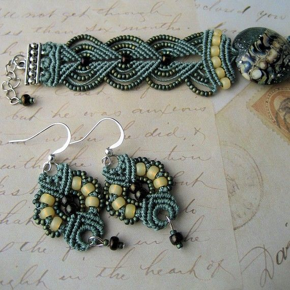 Gorgeous Etsy seller with macrame & beaded jewellery