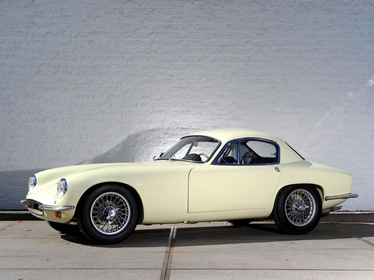 Lotus Elite. Such the innovation