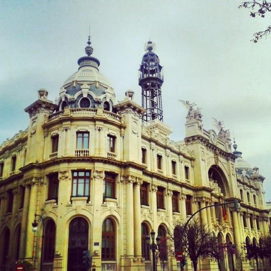 Edificio de correos en valencia espa a autor daherele for Edificio de correos madrid
