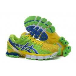 ASICS Gel Kinsei 4 Womens Green/Yellow
