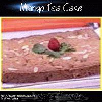 Mango Tea Cake