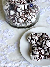Rezepte mit Herz ♥: Chocolate Crinkle Cookies
