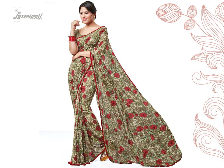 Get this Awesome Olive Green Georgette Saree and Chickan Embroidered Olive Green Blouse along with Satin Piping Border for Your Special Occasion from #LaxmipatiSarees. #Catalogue #SURPREET Price - Rs. 1669.00 Visit for more designs@ www.laxmipati.com #Bridal #ReadyToWear #Wedding #Apparel #Art #Autumn #Black #Border #CasualSarees #Clothing #ColoursOfIndia #Couture #Designer #Designersarees #Dress #Dubaifashion #Ecommerce #EpicLove #Ethnic #Ethnicwear #Exclusivedesign