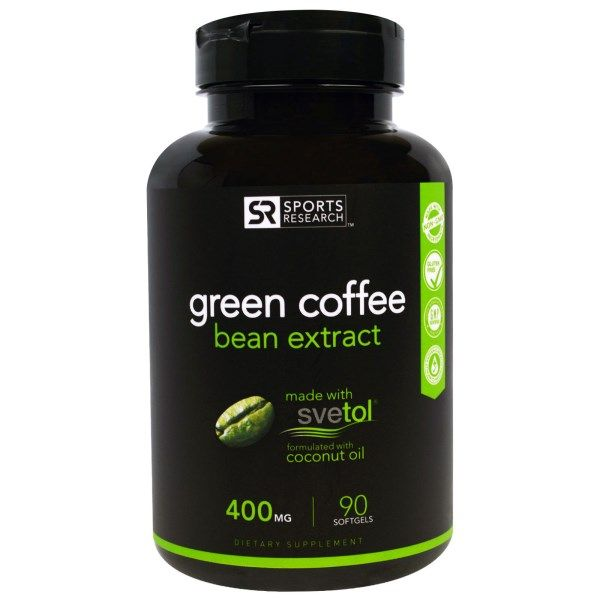 Sports Research Green Coffee Bean Extract on #iHerb 27% + $5 OFF - now $21.95 #RT Discount applied in cart