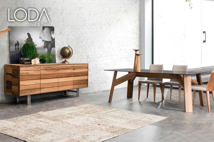 Lotus Yemek Masası / Lotus Dining Room / #mobilya #furniture #tasarım #dekorasyon #stil #style #design #decoration #home #homestyle #homedesign #loft #loftstyle #homesweethome #diningroom #livingroom #yemekodası #ahsapmobilya #lodamobilya
