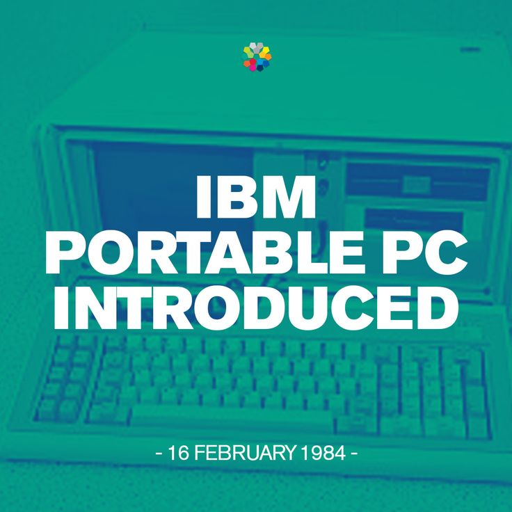 The IBM Portable Personal Computer 5155 model 68 was released in February, 1984 and was eventually replaced by the IBM Convertible. #IBM #anniversary