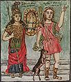 Theophilos Hatzimihail - Wikipedia, the free encyclopedia.  I love the simplicity and beauty of the paintings of Theophilos.  You can see some of his paintings in the Museum of Greek Folk Art in Athens (Kydathinaion, in the Plaka).