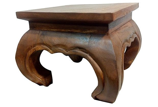 Weston Opium Table, Dark Brown on OneKingsLane.com