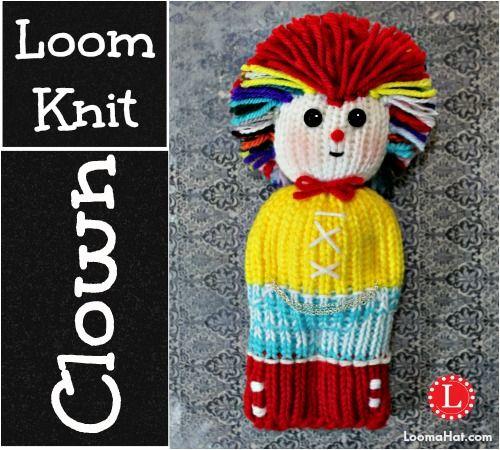 Loom Knit Mohawk Hat Pattern