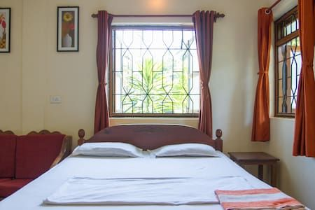 Check out this awesome listing on Airbnb: Relaxing Holiday Home at Morjim Beach Goa - Apartments for Rent in Morjim