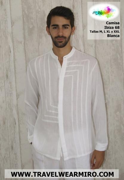 Camisa de hombre -  Ibiza 68 - http://www.travelwearmiro.com/hombres/camisa-de-hombre----ibiza-68.html