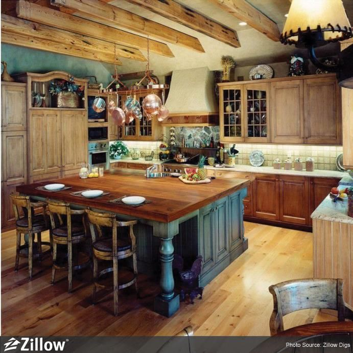 What 39 S Your Favorite Thing About This Chef 39 S Kitchen A Hanging Pot Rack B Exposed Beams C