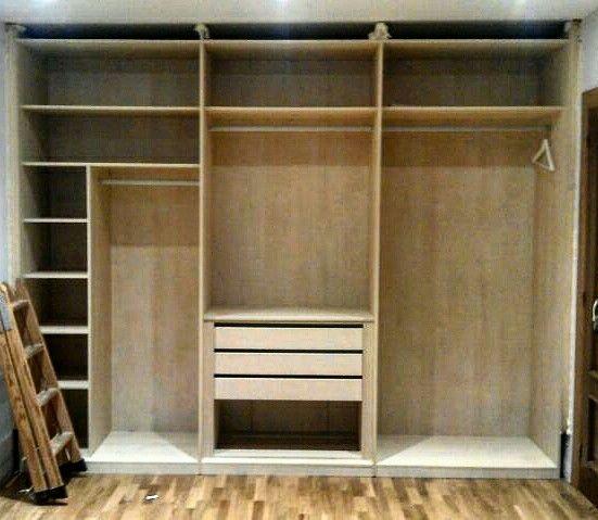 M s de 1000 ideas sobre interior armario empotrado en for Armarios rusticos ikea