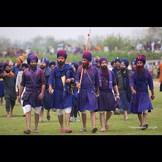 """'The Lions of Punjab' Wonderful repost and words from @22gstudios  """"During the festival of Holla Mohalla Sikhs from around the world converge to the historical city of Anandpur Sahib in Punjab India. It is a day full of color and extraordinary displays of martial arts. Men and Women donned in traditional clothing walk around the fields proudly with their heads held high. Thousands gather around to witness skilled horsemen from across the lands participate in various maneuvers displaying…"""