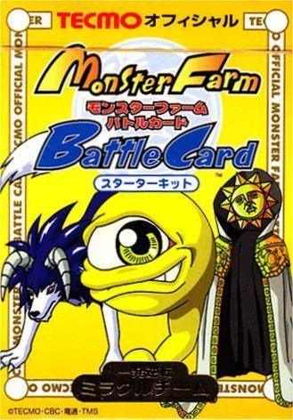 Monster Farm Battle Card Game Starter Deck - Yellow Deck