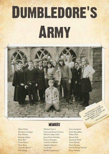 Dumbledore's Army - Harry Potter Fan Art (28084661) - Fanpop