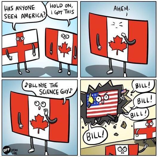 Has Anyone Seen America? Really?