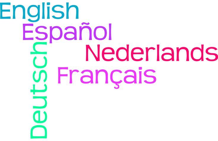 Nederlands is mijn moedertaal. Verder spreek ik ook de bovenstaande talen (Engels, Frans, Duits en Spaans). Gemaakt met: http://www.wordle.net/create