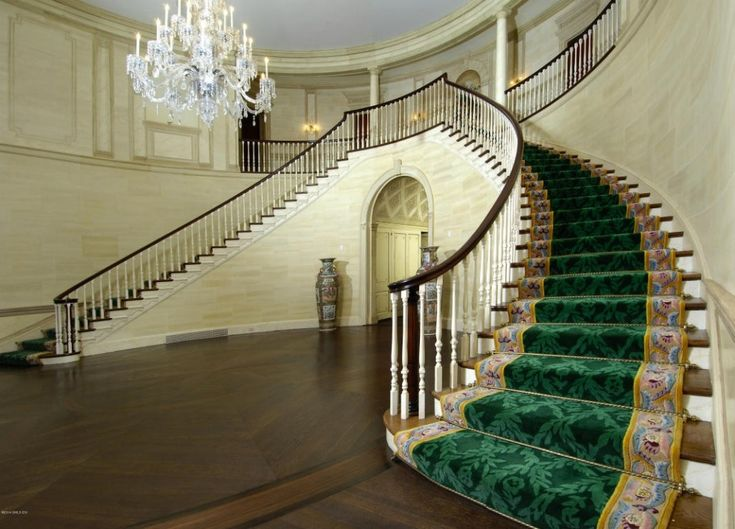 Donald Trump house staircase