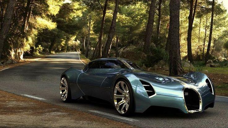 Bugatti Aerolithe Concept _______________________ WWW.PACKAIR.COM