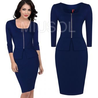This dress is made from a fine blend of cotton,Lycra and polyester to give it that perfect bodycon fit that flatters and accentuates every lady\'s curves