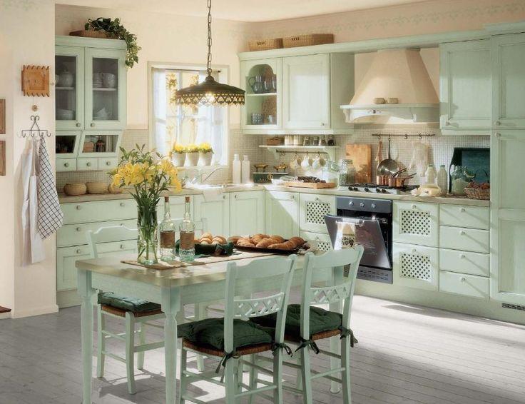белые кухни в стиле прованс - Поиск в Google