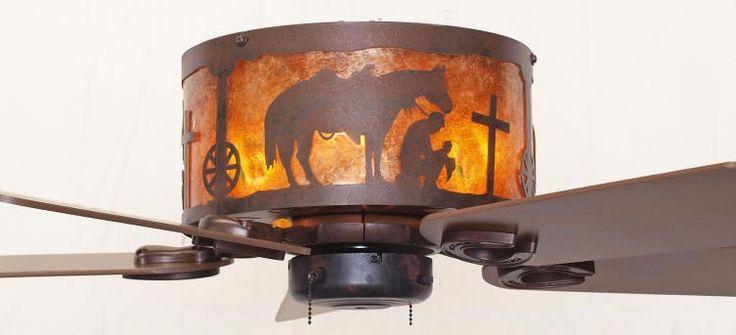 Copper Canyon Western Ceiling Hugger Fan