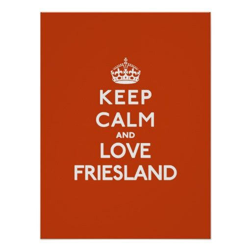 Keep calm, Friesland