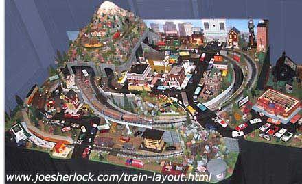 O Gauge Christmas Train Sets