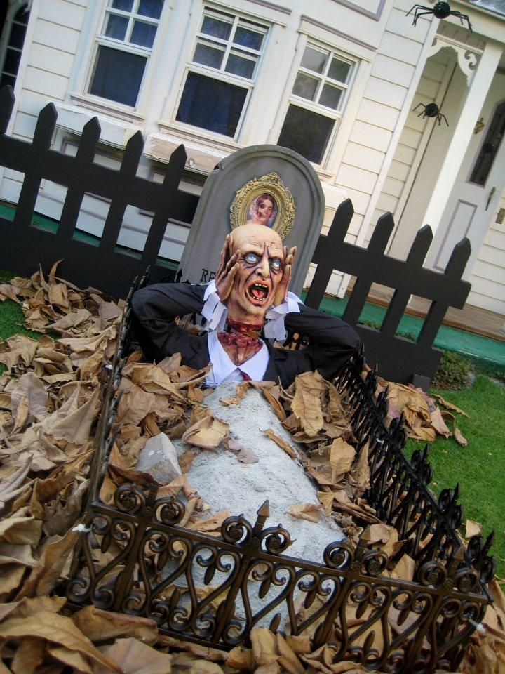 358 Best Images About Halloween Yard Haunt Ideas On